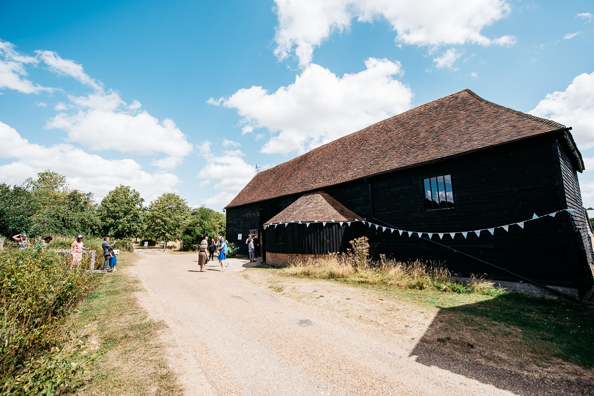Wedding Photography at the Great Barn